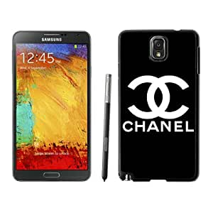 Fashion And Durable Samsung Galaxy Note 3 Case Designed With Chanel 36 Black Phone Case For Samsung Note 3 Cover