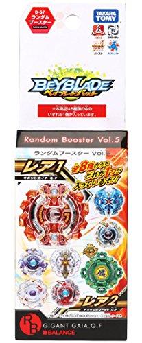 Beyblade Burst B-67 Random Booster Vol.5 Gigant Gaia.Q.F