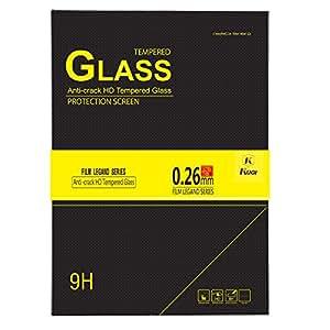 Lenovo YOGA Tab 3 8 screen protector, KuGi Ultra-thin 9H Hardness High Quality HD clear Premium Tempered Glass Screen Protector for Lenovo YOGA Tab 3 8 inch tablet (1 pcs)