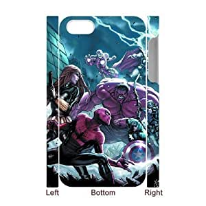 3D Tyquin Avengers IPhone 4/4s Case the Avengers for Women, Phone Case for Iphone 4s for Women for Women [White]