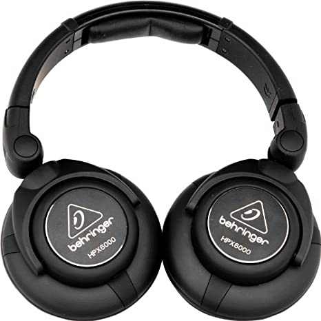 Behringer HPX6000 - Auriculares para DJ, color negro: Amazon ...