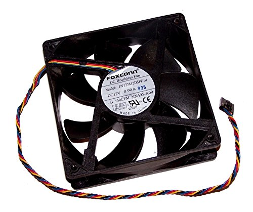 Genuine Dell Foxconn PV123812DSPF 01 Computer Cooling Case Fan N/A 120mm x 120mm x 38mm 0NN495