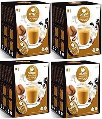 Cápsulas Compatibles Dolce Gusto Origen Sensations Café Con Leche 64 Bebidas Amazon Es Alimentación Y Bebidas