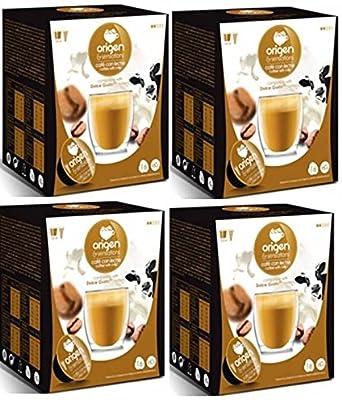 Cápsulas Compatibles Dolce Gusto®* Origen Sensations Café Con Leche 64 bebidas: Amazon.es: Alimentación y bebidas