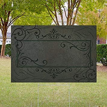 CGSignLab 27x18 Blank 5-Pack Victorian Frame Double-Sided Weather-Resistant Yard Sign