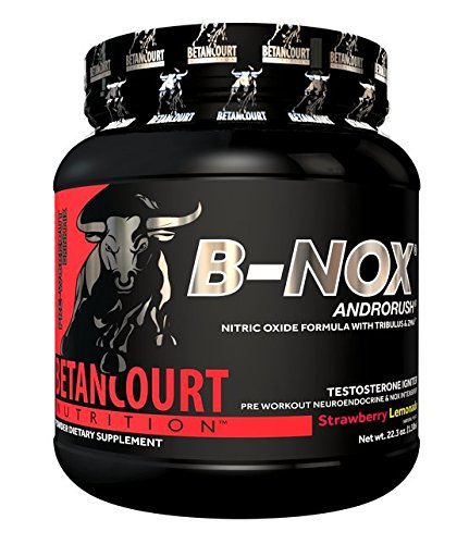 Betancourt Nutrition - B-Nox Pre Workout Drink Mix, Strawberry Lemonade 35 servings, 22.3 oz (1.3 lbs.)