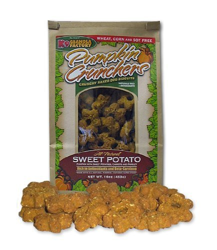 K9 Granola Factory Pumpkin/Sweet Potato with Carrot and Parsley Crunchers (Pumpkin Sweet Potatoes)