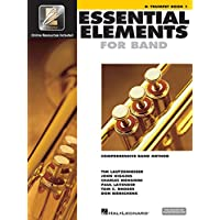 Essential Elements Band with EEi: Comprehensive Band Method: B Flat Trumpet Book 1 Bk/Online Media