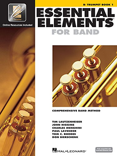 Essential Elements 2000: Comprehensive Band Method: B Flat Trumpet Book - Essentials Book Music