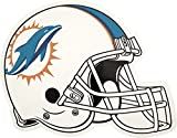 NFL Miami Dolphins Outdoor Small Helmet Graphic Decal