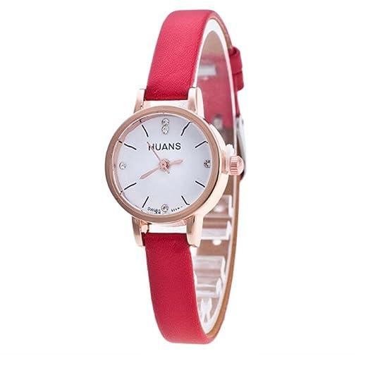 Relojes Mujer,❤LMMVP❤Minimalista moda mujer correa de viaje recuerdos de regalo de