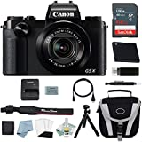 Canon G1X Mark III Digital Camera Bundle + Canon PowerShot g1x Mark III Deluxe Accessory Kit - Including EVERYTHING You Need To Get Started