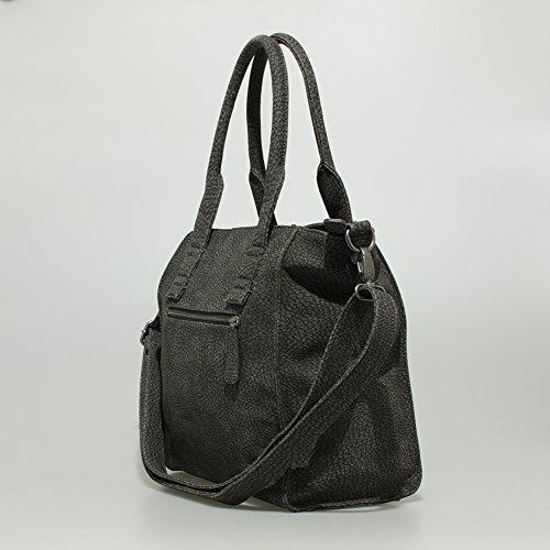 Fritzi aus Preußen Anne Stockholm Shopper Tasche 34 cm Dark Grey