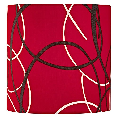 Red Uno - Red Drum Lamp Shade with Uno Assembly