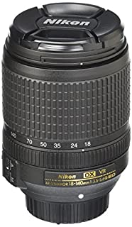 Nikon AF-S DX NIKKOR 18-140mm f/3.5-5.6G ED Vibration Reduction Zoom Lens with Auto Focus for Nikon DSLR Cameras (B00ECGX8FM) | Amazon Products