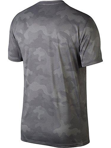 Nike Torr Legend Kör T-shirt Camo Besättning Atmoshere Grå / Gunsmoke