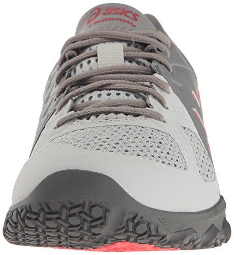 Asics Womens Conviction X Shoes Aluminum/Diva Pink/Glacier Grey T2Ceat1K