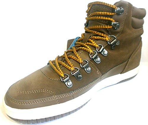 GT 46 Boras Herren Sneaker taupe Tramp Schnürhalbschuhe 41 orange GearTEX weiß TqxCwOq5v