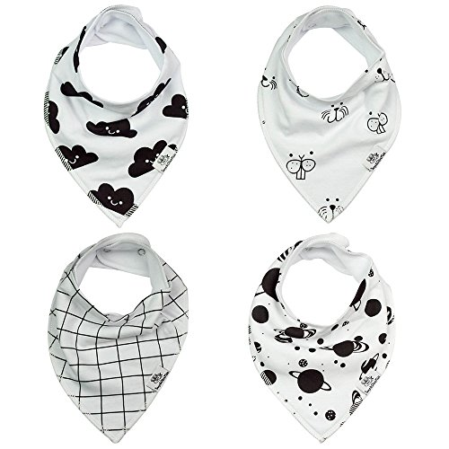 Sage & Olive Kids Baby Bibs - Bandana Bibs are the perfect baby gift idea - These stylish organic baby bibs make for great burp cloths or as cute baby clothes - Unique unisex baby clothes