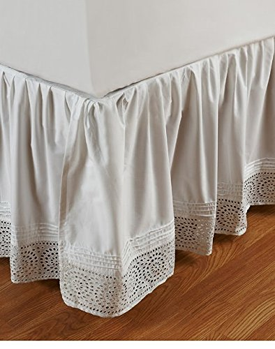 Be-you-tiful Home Camille Cutwork king Bed Skirt