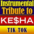 Ke$ha Instrumental Tribute - Tik Tok - Single