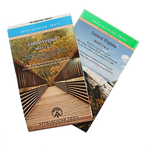 Official Central Virginia Appalachian Trail Maps