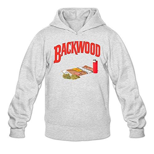 Sungboys Men's Backwood Art Long Sweatshirts Hoodie