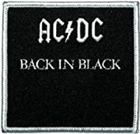 Application AC/DC Back In Black Patch