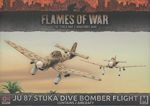 Stuka Dive 87 Bomber Ju - Flames of War: Mid War: German: JU 87 Stuka Dive Bomber Flight