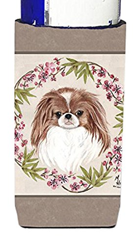 UPC 638508058782, Japanese Chin Wreath of Flowers Ultra Beverage Insulators for slim cans MH1009MUK