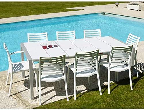 GROSFILLEX Sunday Table, Blanc: Amazon.fr: Jardin