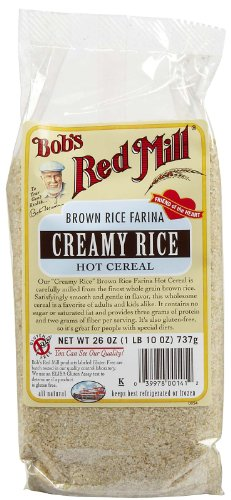 Creamy Brown Rice Cereal (Bob's Red Mill Brown Rice Farina Cereal - 26 oz)