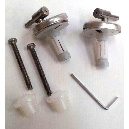 de pl/ástico termofraguante Asiento para inodoro Esedra Ideal Standard Ercos Silver/ACB