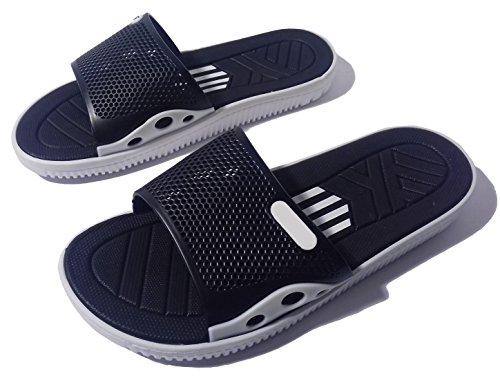 Schwarz MuMa Herren Weiß Schwarz Sandalen aBHBqng