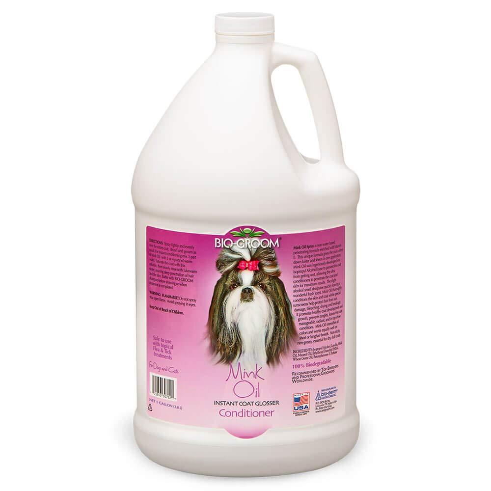 Bio-groom Dog and Cat Mink Oil Spray, 1-Gallon by Bio-groom