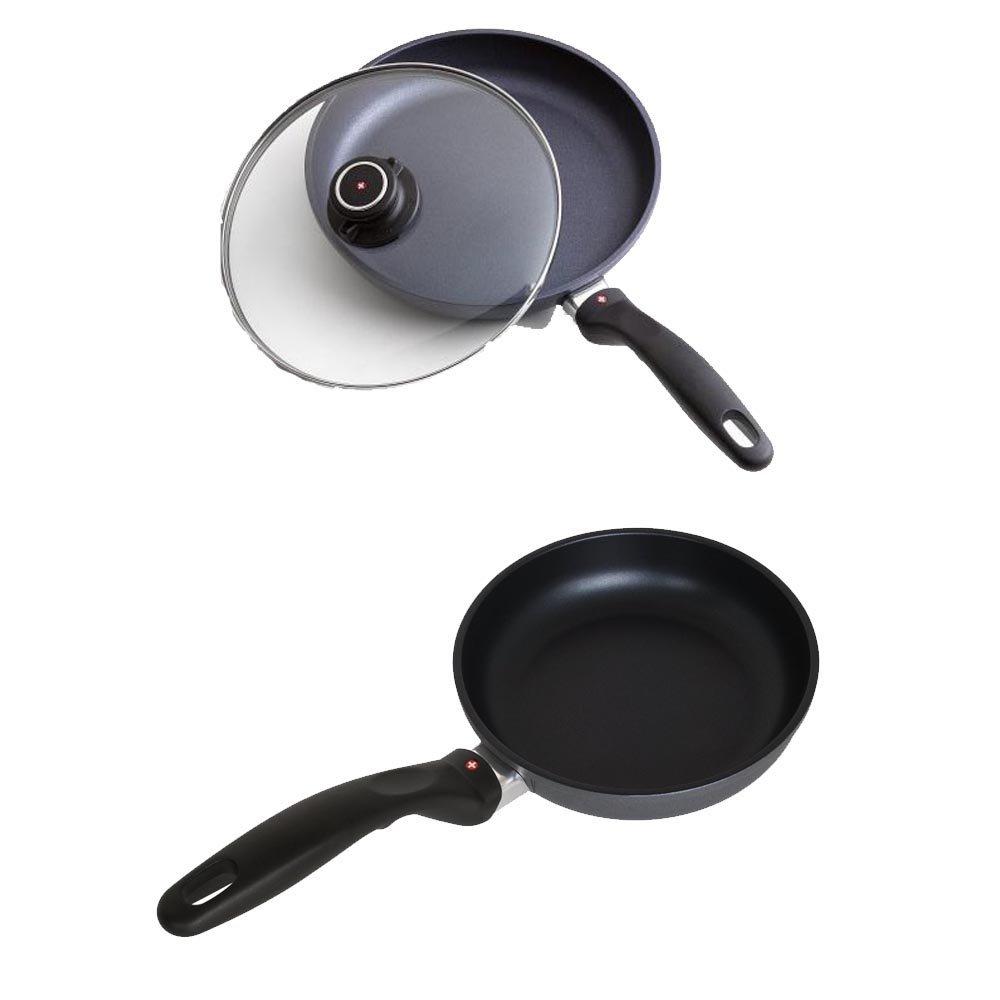 スイスダイヤモンドFry Pan with Lid &スイスダイヤモンド7-inch Nonstick Fry Pan B01FMO9YSW