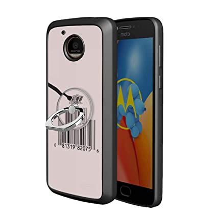Amazon com: Black Moto E4 Plus Case with Ring Holder Stand