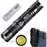 Bundle:Nitecore P12 2015 Version 1000 Lumens CREE XM-L2 U2 LED Flashlight 253 Yards Beam Distance Waterproof Tactical Flashlight 88g Compact Searchlight by 18650 with EASTSHINE EB182 Case Box