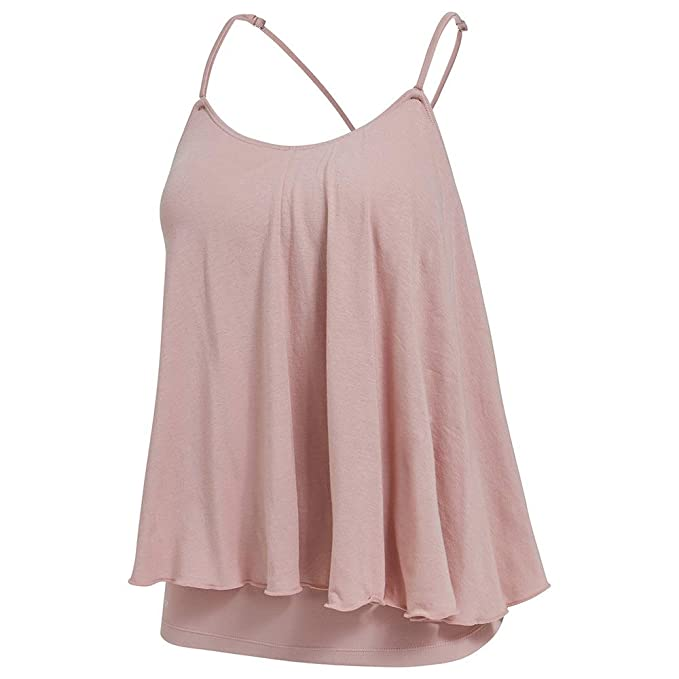 andar Cordura Dandelion Yoga top Indi Pink at Amazon Womens ...