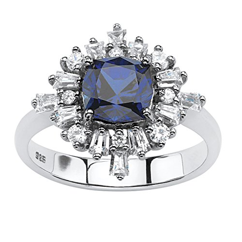 Tapered Zircon Ring - 8