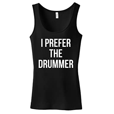 3b47cb608ff1f Amazon.com  mintytees keepin  It Fresh I Prefer The Drummer Ladies ...