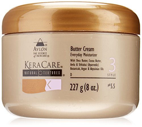 Avlon Keracare Natural Texture Butter Cream, 8 Ounce