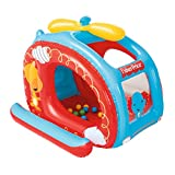Helicopter Ball Pit with 25 Play Balls for 2 Years Old and Up 54'' L x 44'' W x 38'' H
