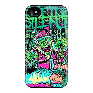 JacquieWasylnuk Apple Iphone 4/4s Great Hard Cell-phone Case Unique Design HD Suicide Silence Pattern [sCl8422qEyP]