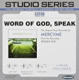 Word Of God Speak by MercyMe Accompaniment Track