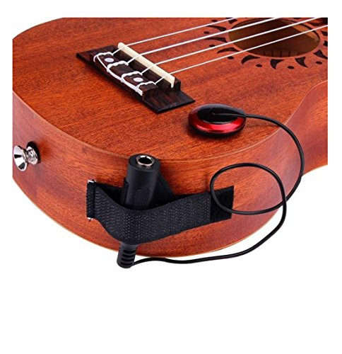 Transducers Jack Pickup System for Guitar Mandolin Ukulele - 9
