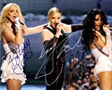 Britney Spears - Madonna - Christina Aguilera Autographed Signed 8 x 10 Reprint Photo - (Mint Condition)