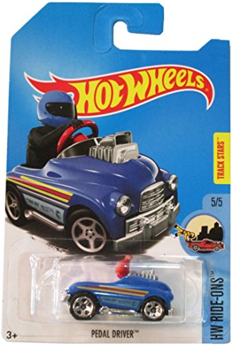 Hot Wheels 2017 HW Ride-Ons Pedal Driver, Blue (Treasure Hunt)