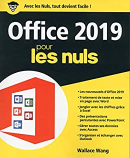 Amazon Com Office 2019 Pour Les Nuls Grand Format French