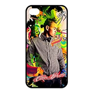 Chris Brown iPhone 5s Cases TPU Rubber Hard Soft Compound Protective Cover Case for iPhone 5 5s